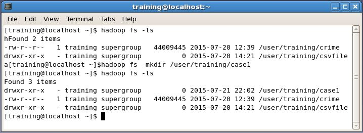 making a directory in Hadoop HDFS